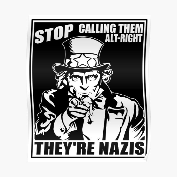 Anti Alt Right Poster