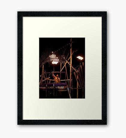 Juggernaut Pyrophone Framed Print