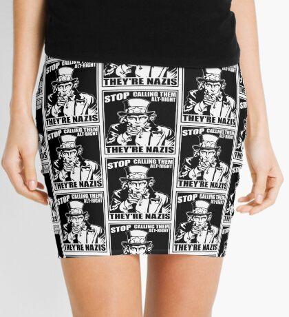 Anti Alt Right Mini Skirt