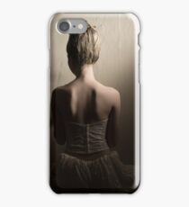 Girl Facing Wall iPhone Case/Skin