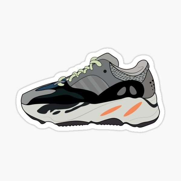 Yeezy Wave Runner 700 Sticker