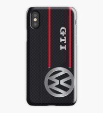GTI black iPhone Case/Skin