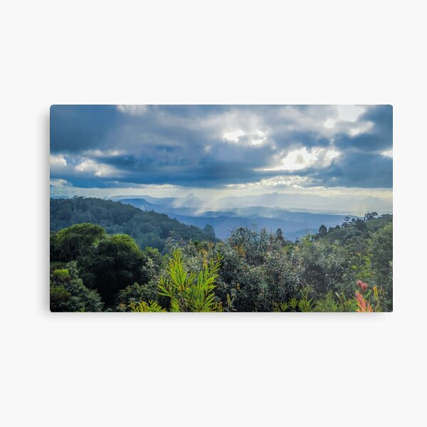 The Valley Below Metal Print