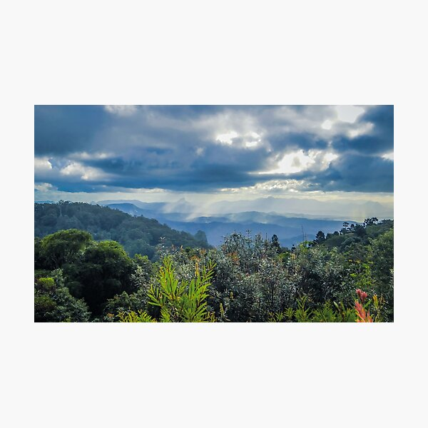 The Valley Below Photographic Print