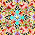 Gypsy Caravan Geometric by PatriciaSheaArt