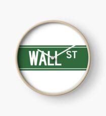 WALL STREET, NYC Horloge