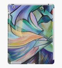 Middle Eastern Belly Dance With Pastel Veils iPad Case/Skin