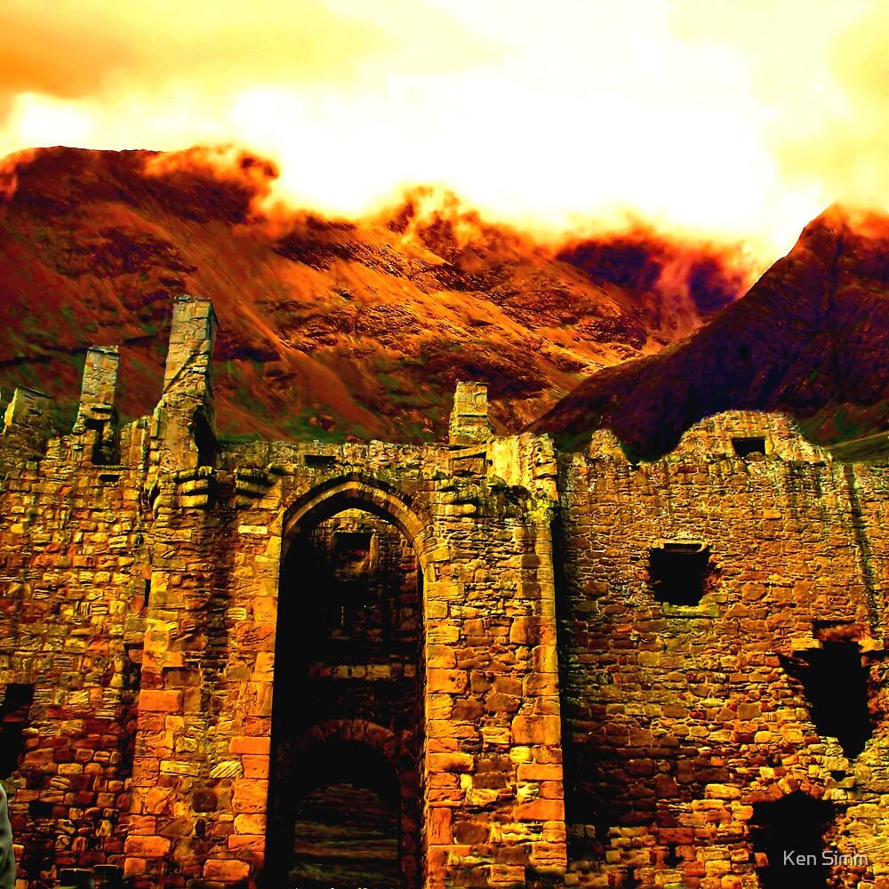 Castle & Mountain by Kenart