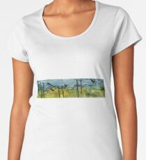 Bird on The Wire Women's Premium T-Shirt