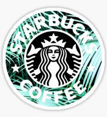 Starbucks Leaves Sticker