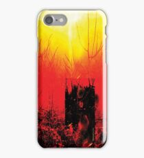 Psychmaster Fire Sunset 101 iPhone Case/Skin