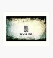 Rescue Conference 2017  Art Print