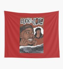 Poetic Justice - Lucky in Love Wall Tapestry