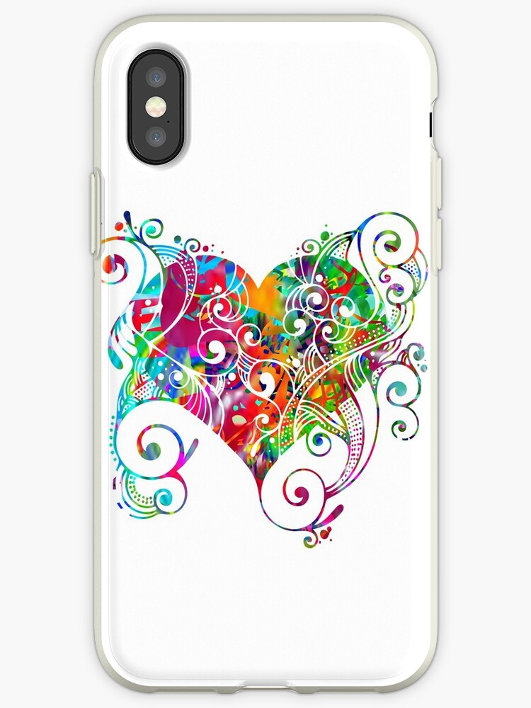 Colorful Heart by ShyneR