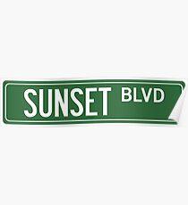 SUNSET BLVD Poster
