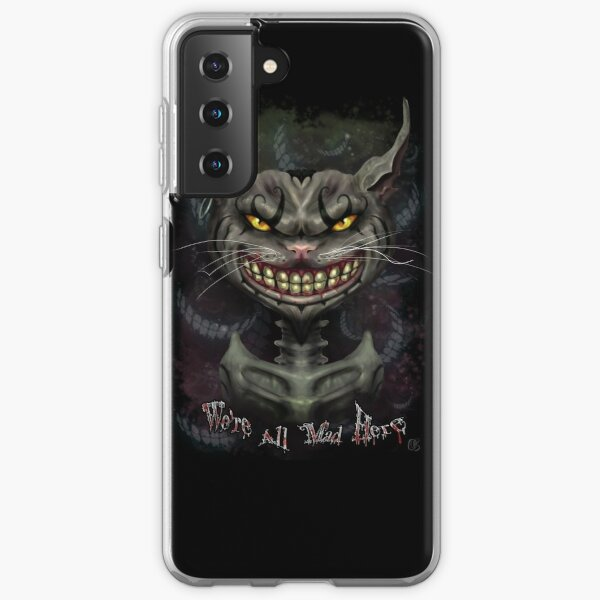 chat de Cheshire Coque souple Samsung Galaxy