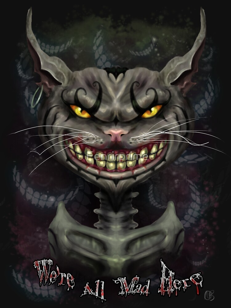 TShirtGifter presents: Cheshire Cat | Women's T-Shirt