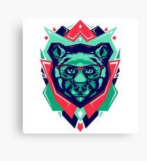 Cute Bear Funny Canvas Print