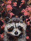 Baby Raccoon by Michael Creese