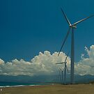 Bangui Windmills by iamYUAN