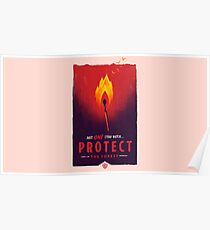 Firewatch- Protect The Forest Poster
