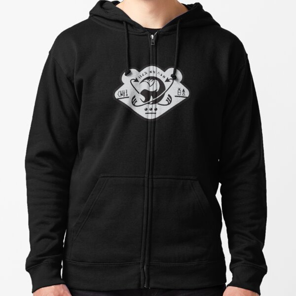 Grizzco Logo - Two Color Zipped Hoodie