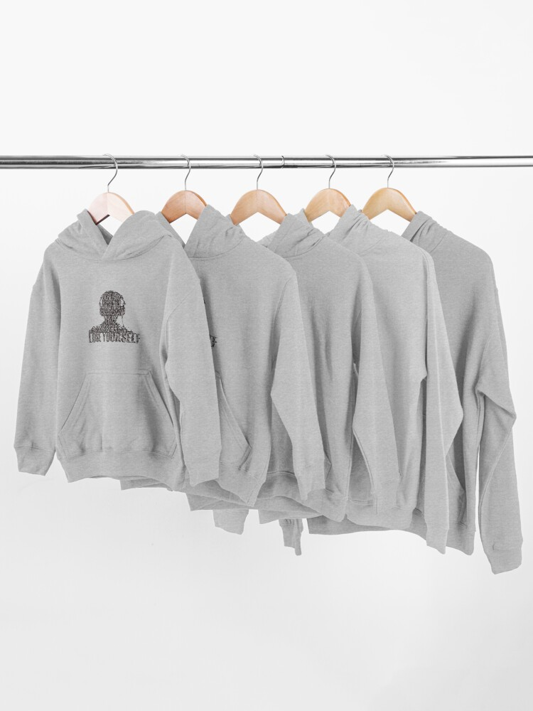 Alternate view of Lose Yourself Kids Pullover Hoodie