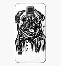 Mops-Leben = Verbrecher-Leben Hülle & Klebefolie für Samsung Galaxy