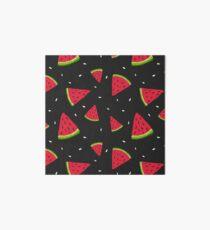 Wassermelonen im Dunkeln Galeriedruck