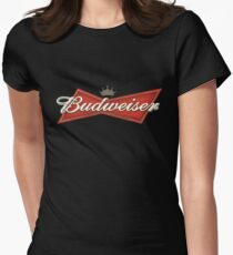 Budweiser Beer Women's Fitted T-Shirt
