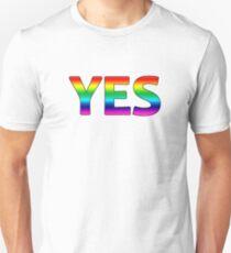 Rainbow Yes T-Shirt