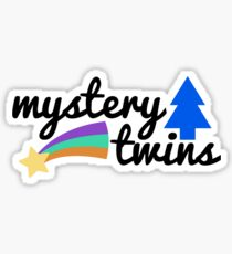 mystery twins - mabel and dipper Sticker