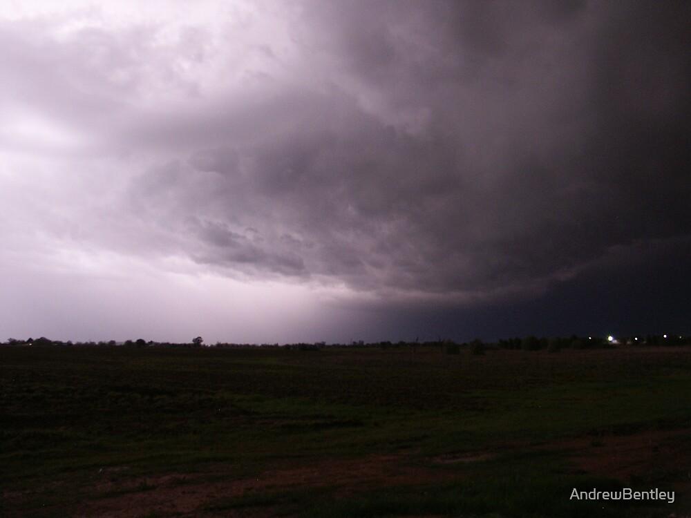 Lightning Clouds #003 by AndrewBentley