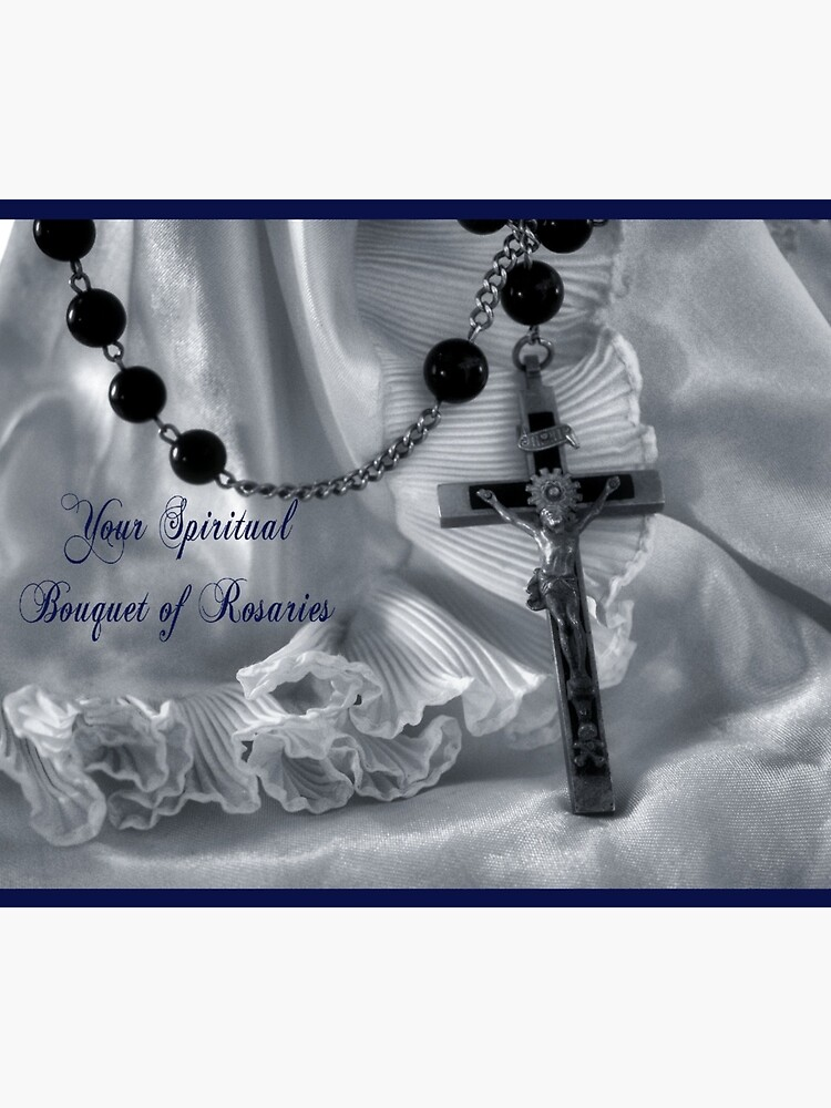 Spiritual Bouquet Greeting Card and more by CatholiCARDS