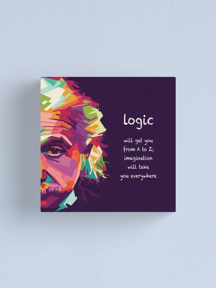 Alternate view of logic Canvas Print