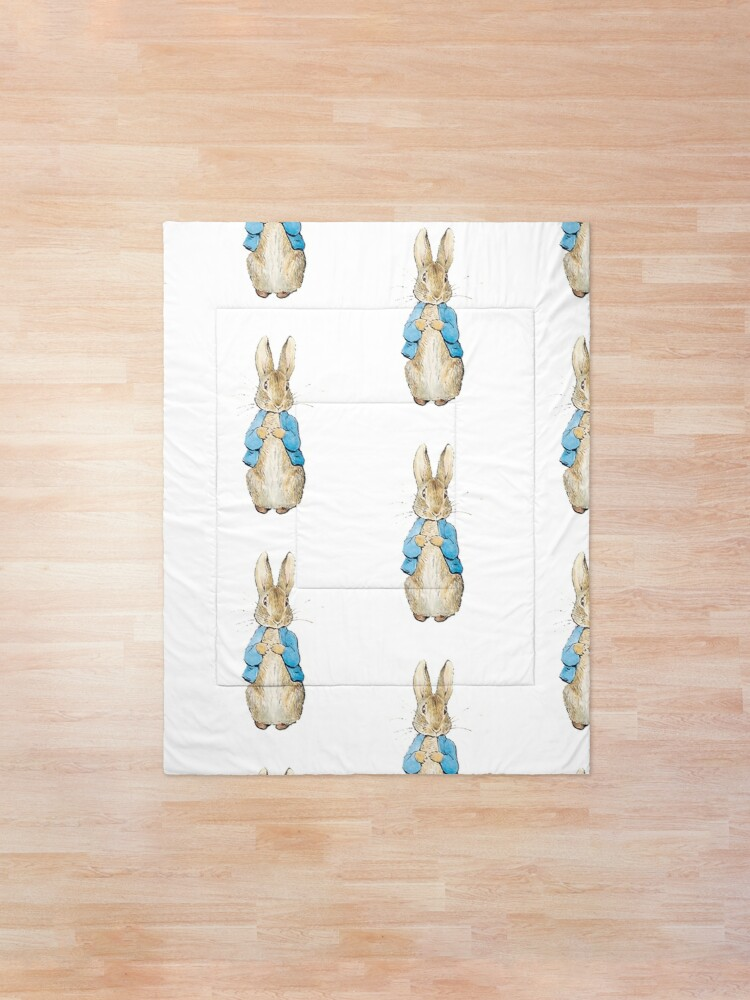 Alternate view of Peter Rabbit Comforter