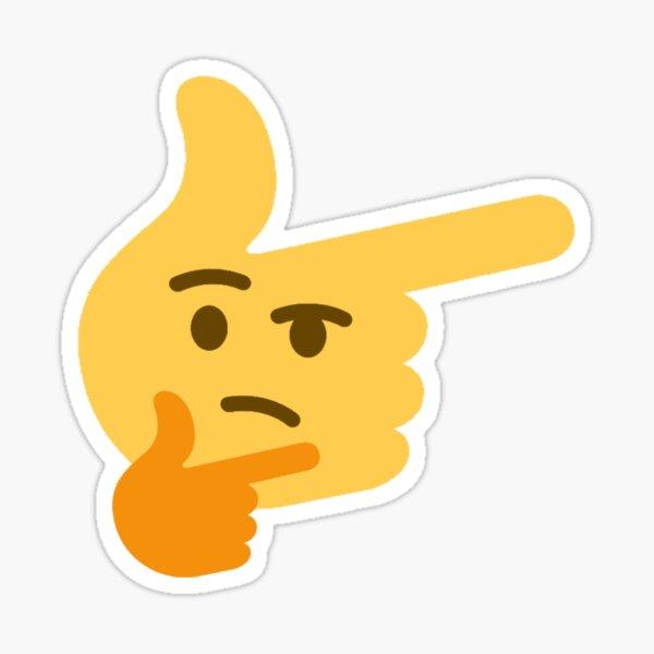 Thinking Finger Emoji Sticker