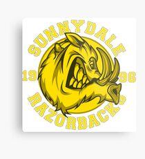 Sunnydale Razorbacks Metal Print
