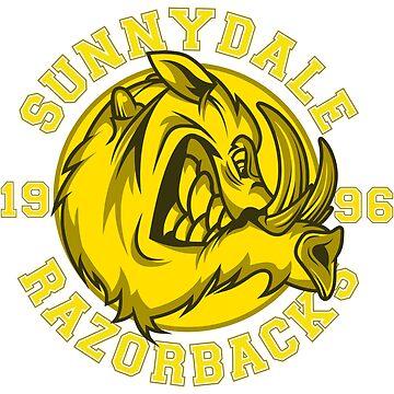 Sunnydale Razorbacks by MitchLudwig