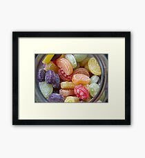 Heller & Strauss Tutti Frutti Fruit Flavored Candies - Made In Germany Framed Print