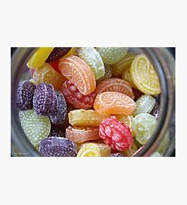 Heller & Strauss Tutti Frutti Fruit Flavored Candies - Made In Germany Photographic Print