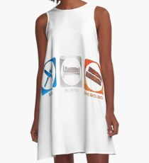 PC Art A-Line Dress