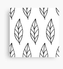 Seamless Drawing Pattern Wallpaper #21 Canvas Print