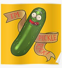 Pickle Rick Poster