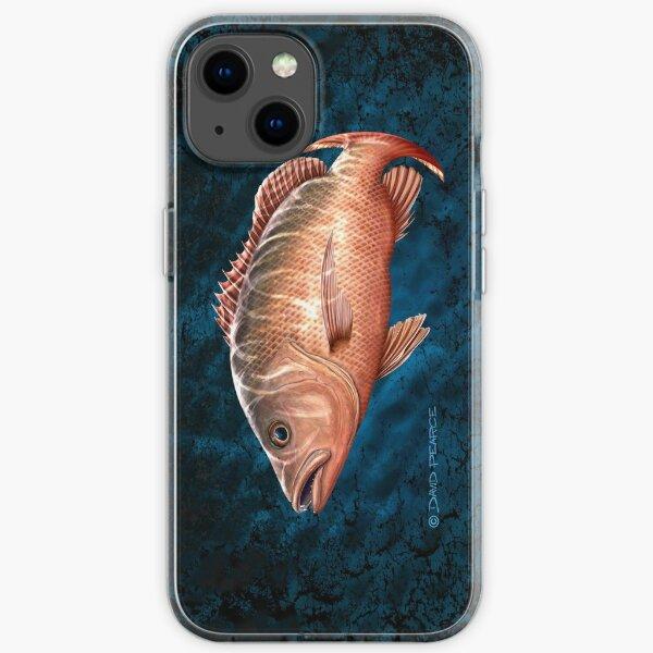 Mangrove Jack on black & blue iPhone Soft Case