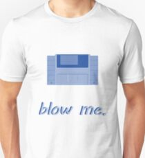 Punny SNES Cartridge Blow Me  T-Shirt