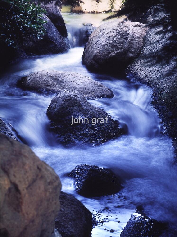 Calming Stream by john graf