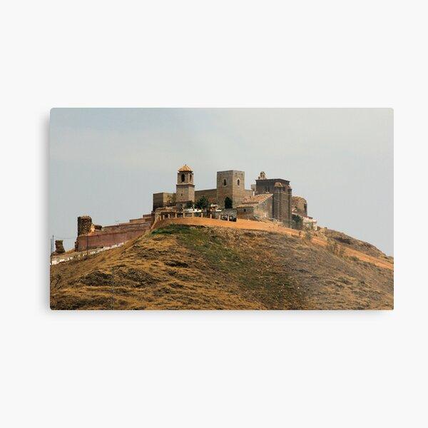 Alora Castle Metal Print