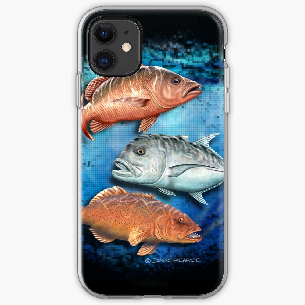 Mixed Reef fish iPhone Soft Case