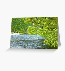 joyride on tasek gunung lang Greeting Card
